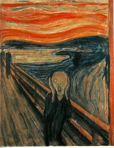 Gemälde von Munch: Der Schrei